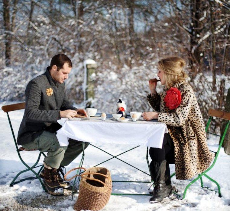 Пикник зимой в лесу что приготовить