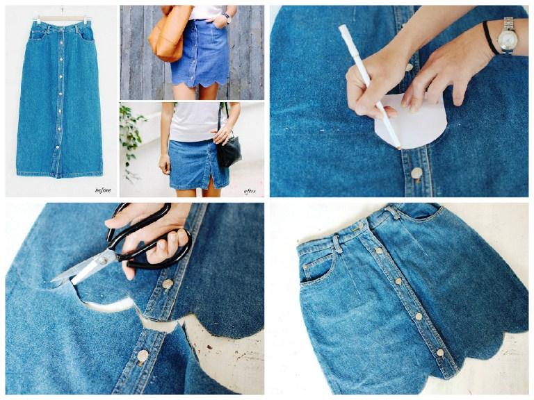 12 идей, как из старой одежды сделать новые модные вещи - Фото Мода