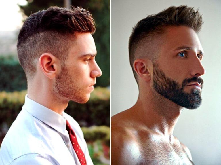 модные мужские стрижки с бородой 2017