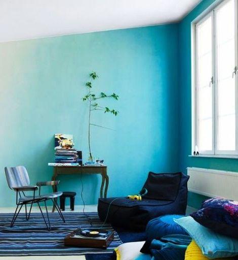 Окрашенные стены как декор