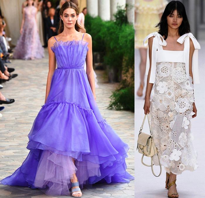 Модные летние платья 2017-2018 года