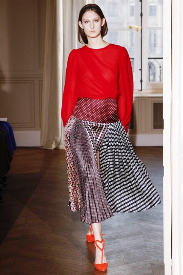 Модные гофрированные юбки