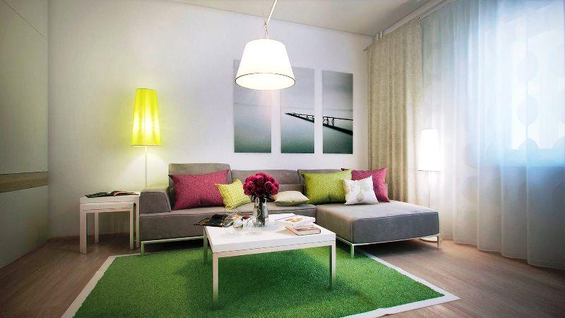 Дизайн ремонт 1 комнатной квартиры 40 кв.м