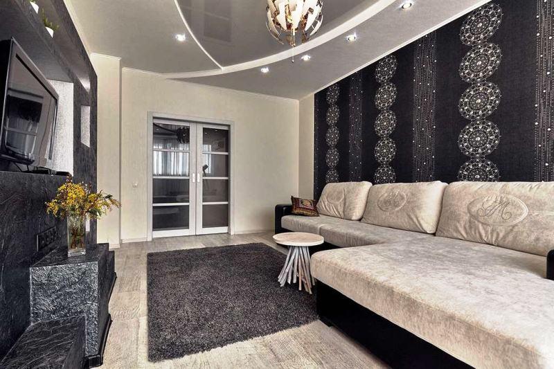Дизайн квартиры с обоями фото 2017 современные идеи