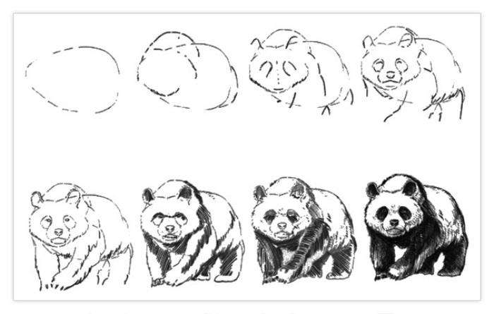 Картинки панда и котик