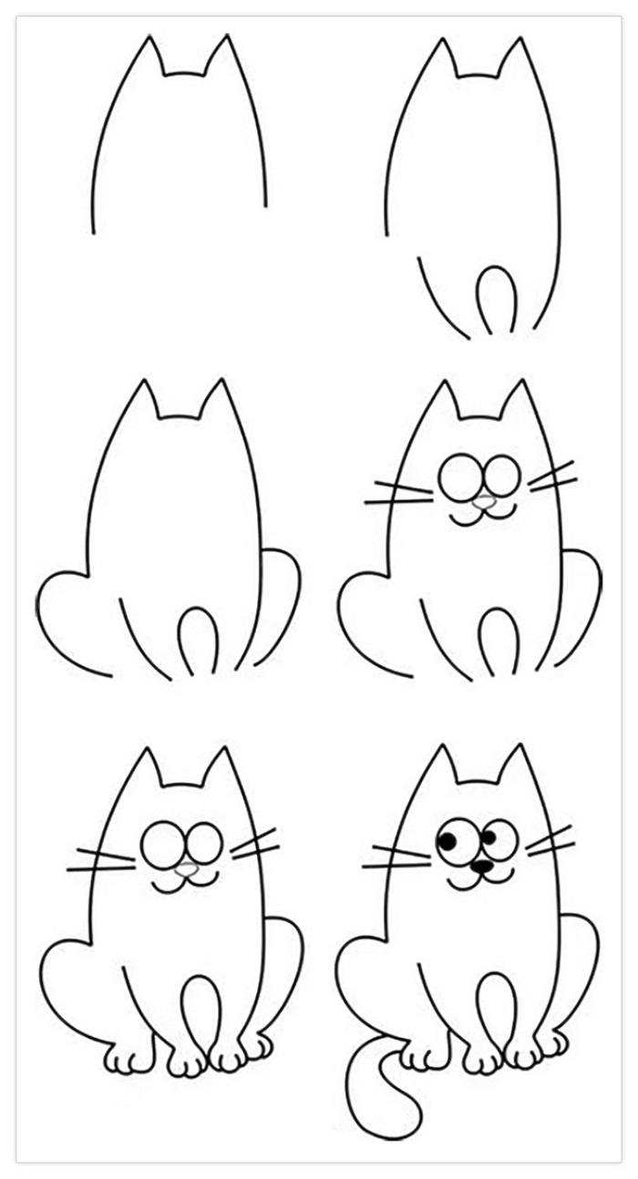 12 лёгких рисунков карандашом для срисовки поэтапно с ...: http://12millionov.com/12-lyogkix-risunkov-karandashom-dlya-srisovki-s-detmi.html