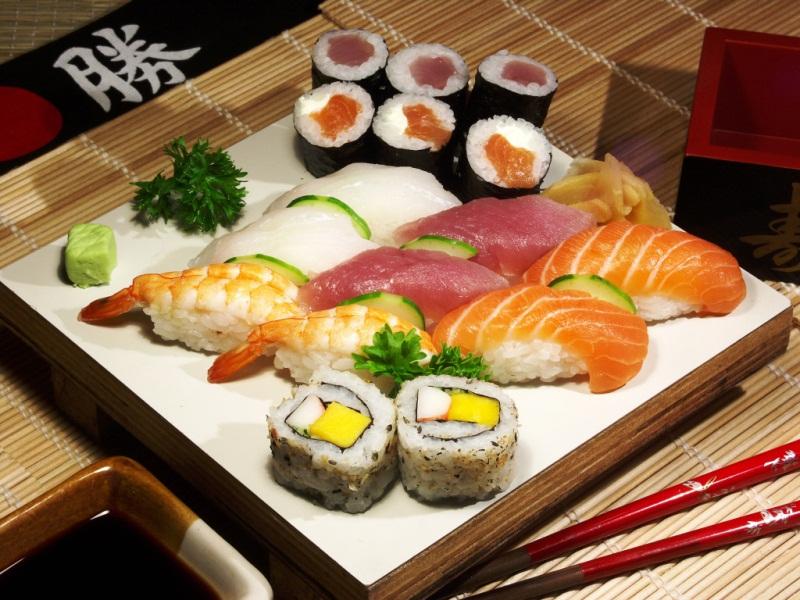 Роллы суши: рецепты японских блюд