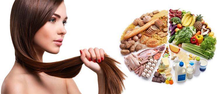 Питание для быстрого роста волос