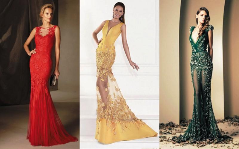 Красивые вечерние платья 2017 год