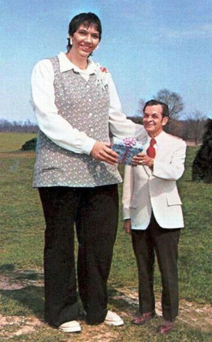 Самая высокая женщина в мир