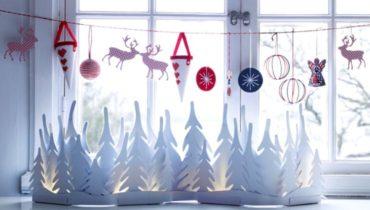 Новогодние окна