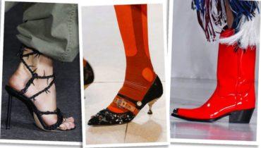 Модная женская обувь весна лето 2018