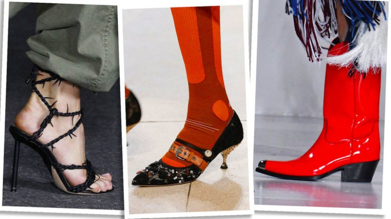 Мода Весна 2018 Туфли