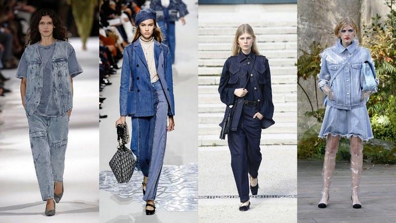 Стилизация джинса: Stella McCartney, Dior, Nina Ricci, Chanel