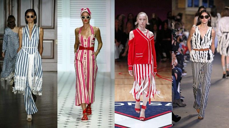 Одежда в полоску: Сачин и Баби, Temperley London, Monse, Altuzarra