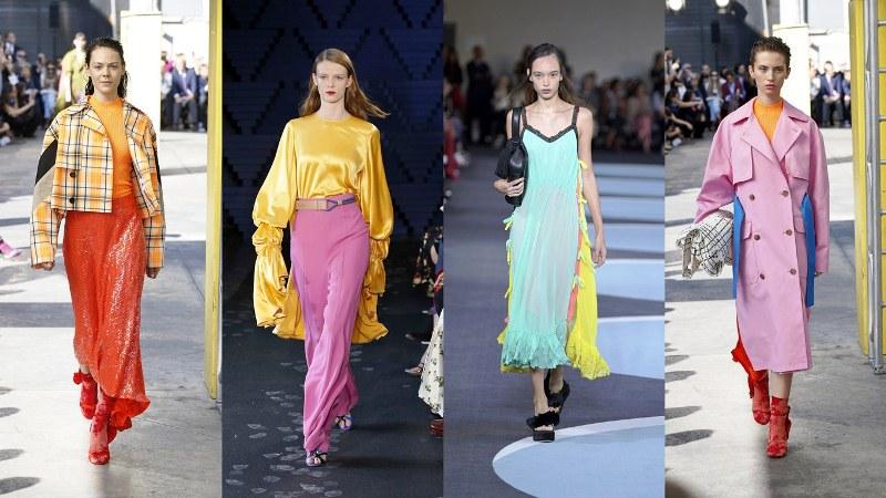 Красочные стилизации: MGSM, Roksanda, Marco de Vincenzo, MGSM