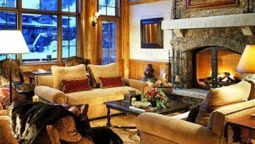 Тёплые оттенки для зимнего интерьера