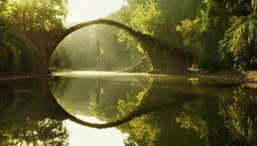 1. Арочный мост Ракотц, Германия.