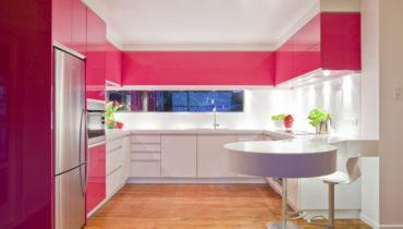 Яркий цвет кухни