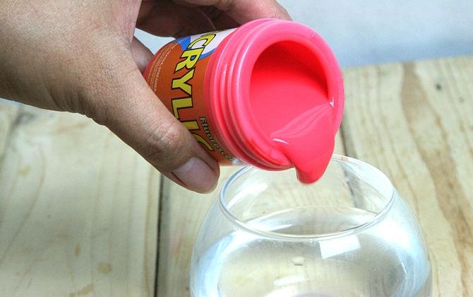 Как сделать своими руками светящуюся краску