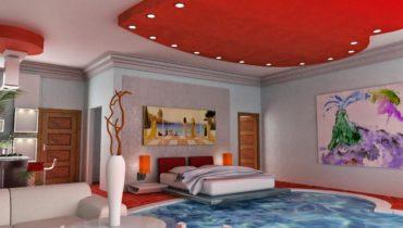 Спальня с бассейном