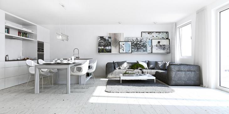 Идеи для дизайна квартиры студии Фото Дизайн интерьера