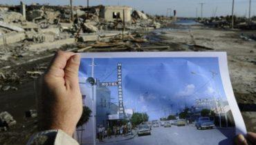 Фото городов, после катастрофы