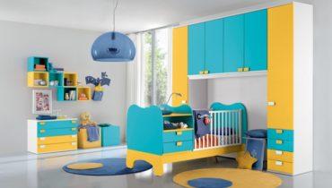 Красочные детские комнаты
