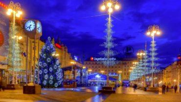 Красивые города для Нового года
