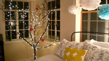 Спальня к Новому году