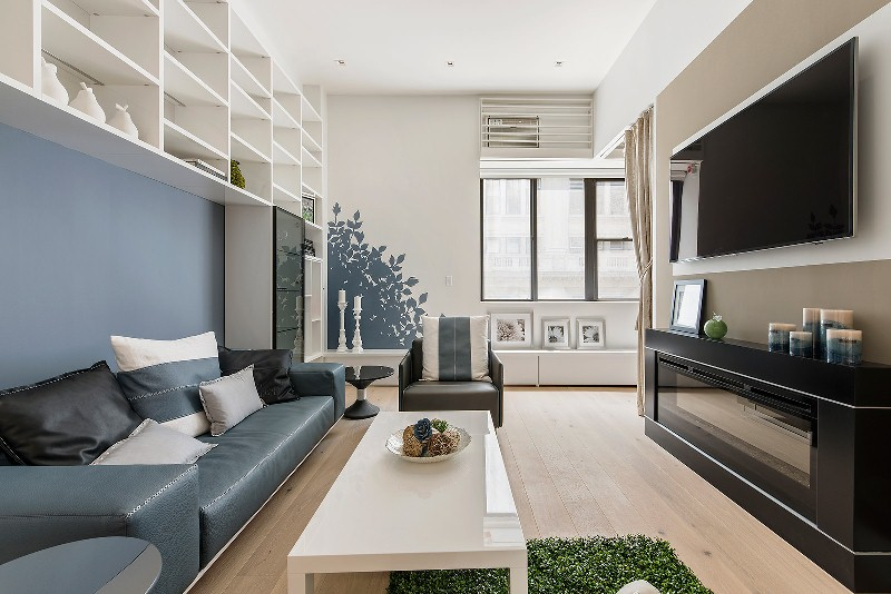 Дизайн гостиной в стиле модерн Фото Дизайн интерьера