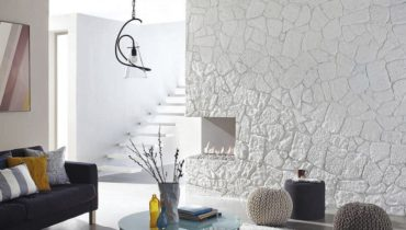 dekorativmyi kamen v interere