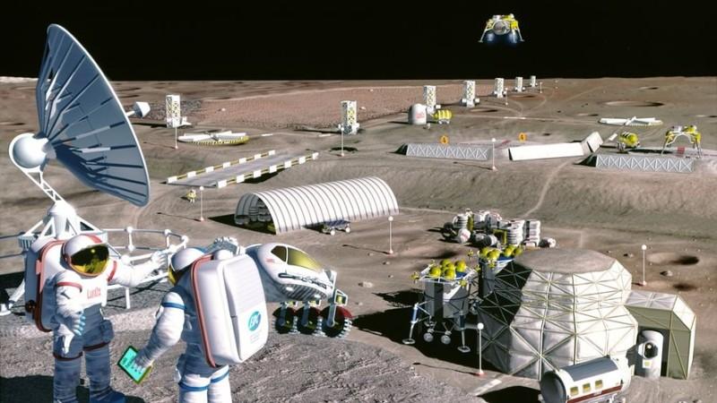 Первая база на Луне всего в 10 млрд долларов – Фото Мир Фактов