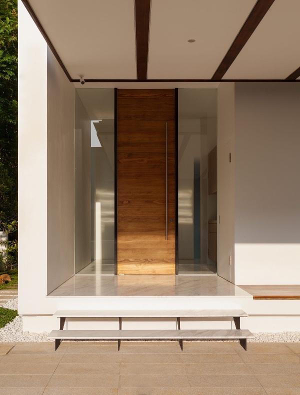 12 современных идей входных дверей фото дизайн интерьера