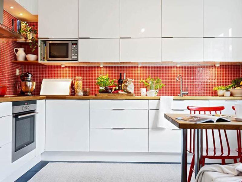 Чем мыть глянцевые фасады кухни