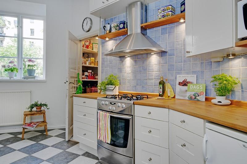 кухня в скандинавском стиле 12 идей фото дизайн интерьера