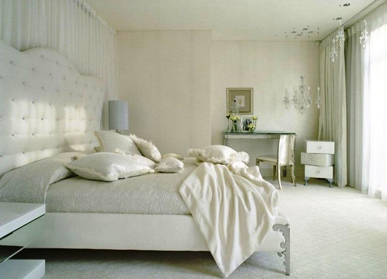 Спальня в нежных тонах — Интерьеры квартир, домов — MyHome.ru | 554x768