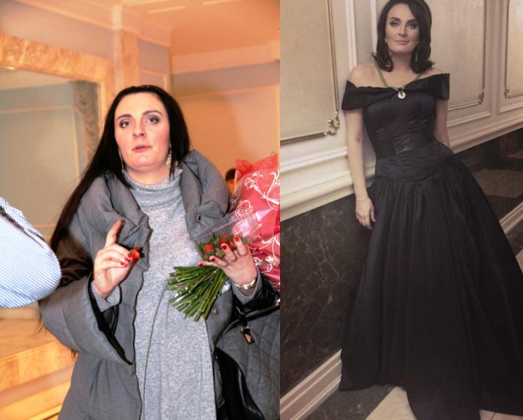 ТОП-12 фото звезд до и после похудения