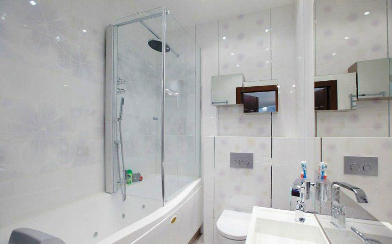 Простые интерьеры ванной комнаты Раковина Vidima СеваФреш W449461