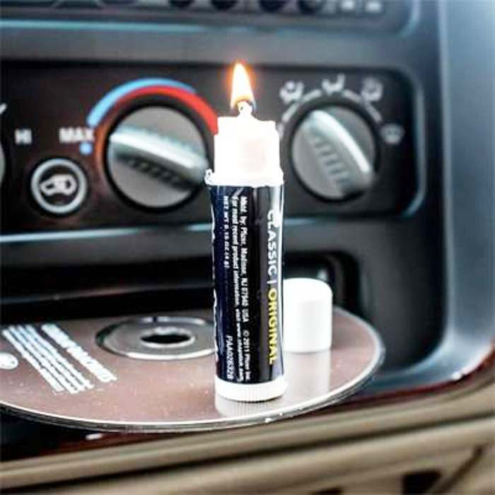 Make a candle with your own hands  Unusual Ways to Use Lip Balm