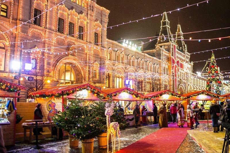 ТОП-12: Куда пойти в Москве на новогодние праздники 2019