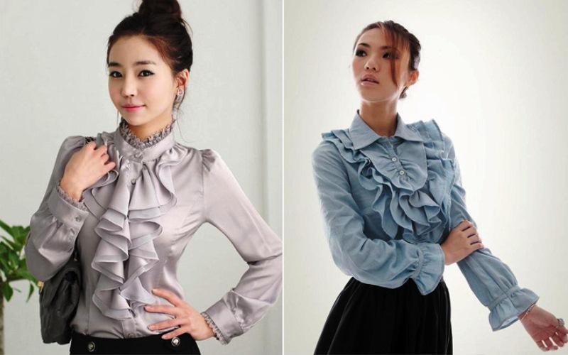 39be9f928a1 Модные тенденции женских блузок осенне-зимнего сезона