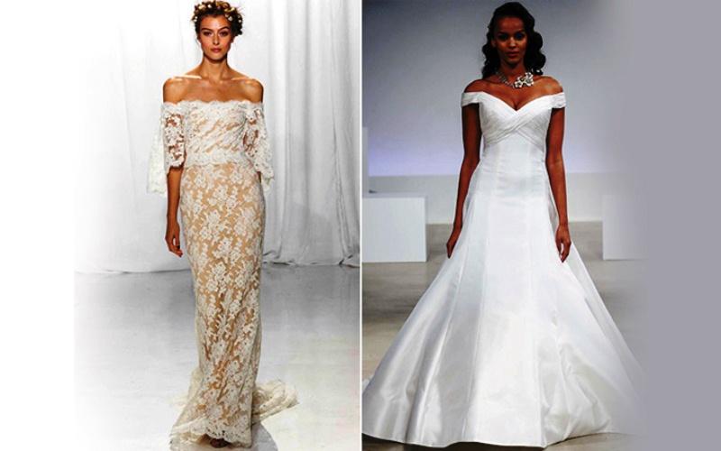 Для невест, предпочитающих более скромные платья, в особенности, если в  этом наряде планируется совершить обряд венчания, модельеры предлагают  целомудренные ... 8a64bb88633