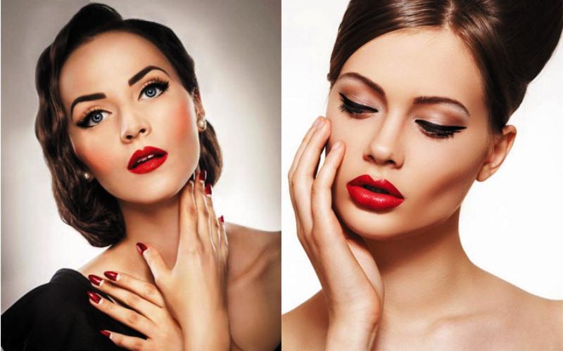 Новогодний макияж 2020 в домашних условиях