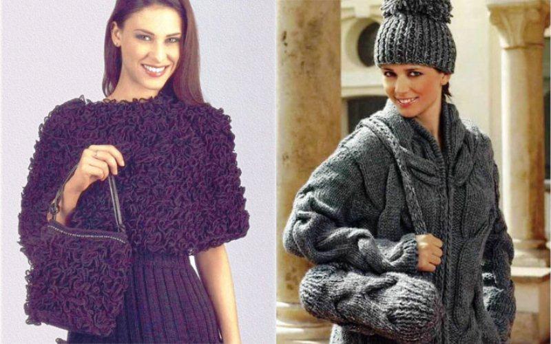 модные вязаные вещи осень зима 2018 2019 года фото мода