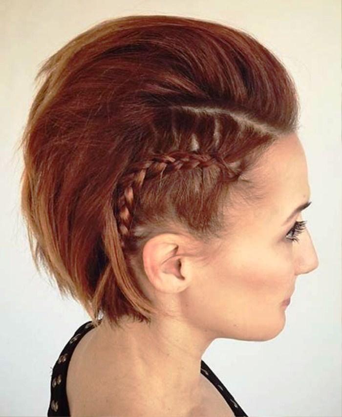 Punk rock Best Wedding Hairstyles for Short Hair