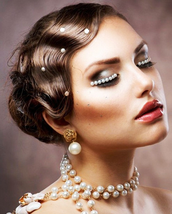 Retro hairstyle for short hair Best Wedding Hairstyles for Short Hair