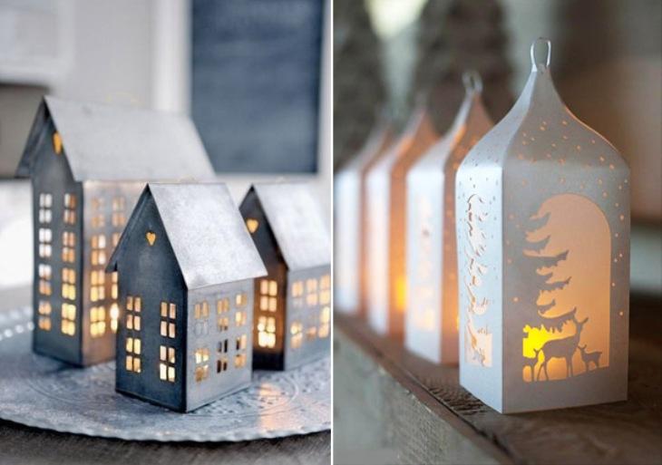 -окна-14 Украшения на окна к Новому году: 13 идей для праздничного настроения