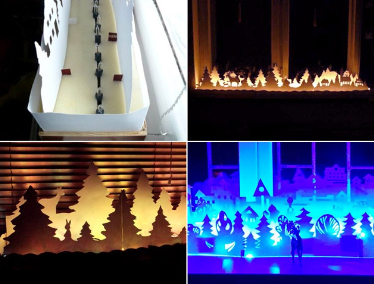 -окна-24 Украшения на окна к Новому году: 13 идей для праздничного настроения