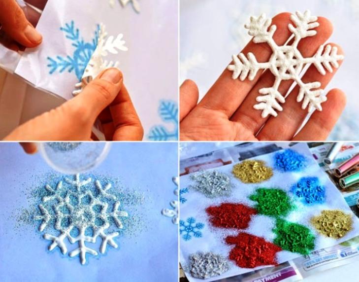 -окна-5 Украшения на окна к Новому году: 13 идей для праздничного настроения